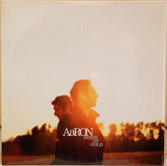 recto du CD Collector promo d'Aaron - Seeds of gold