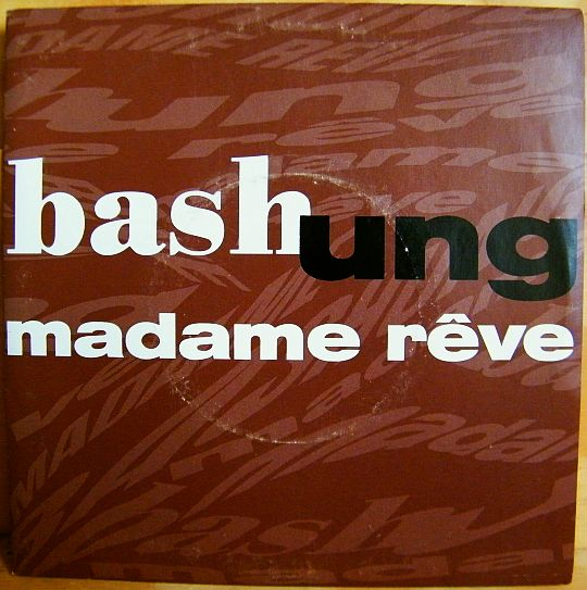recto du 45t promo collector hors commerce d'Alain Bashung version Single