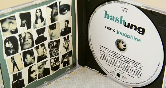 CD promotionnel Collector d'Alain BASHUNG - Osez Joséphine