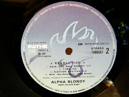 face B Alpha Blondy - Revolution
