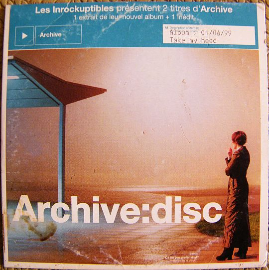 recto du CD Collector Archive:Disc des Inrockuptibles