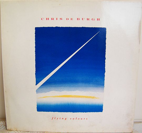recto de l'album 33 tours promo Collector de Chris de Burgh - Flying colours