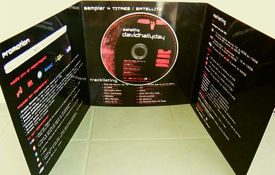 David Hallyday - Satellite CD sampler promo version 2004