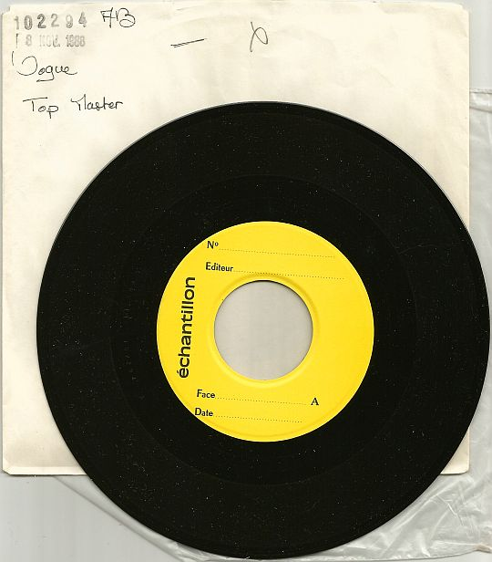 pochette et 45t échantillon Collector Test Pressing de Dee D. Jackson - Automatic lover 88
