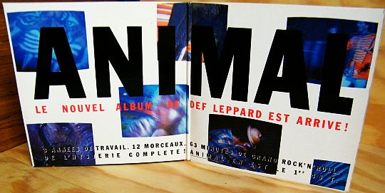 gatefold collector Def Leppard - Animal