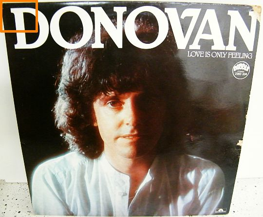 recto de la pochette du 33t Collector de Donovan - Love is only feeling