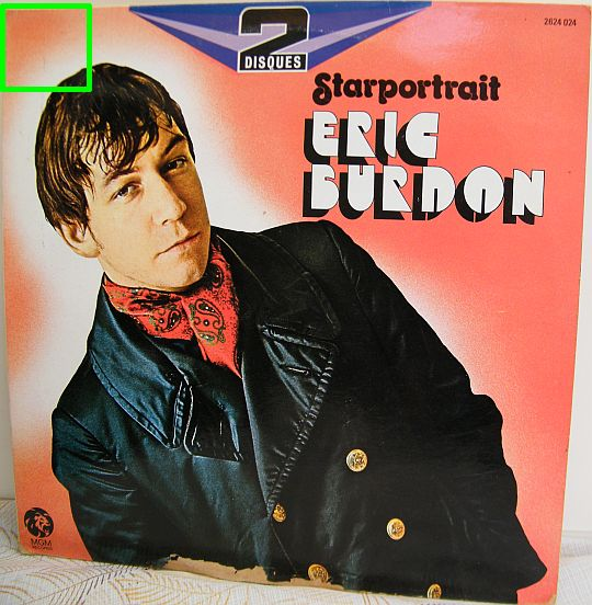 recto du double LP 33 tours Collector d'Eric Burdon - Starportrait