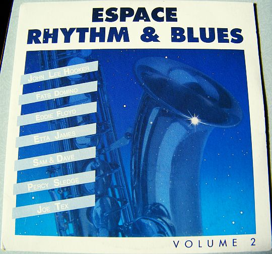 recto du sampler promotionnel Espace Rhythm and Blues volume 2