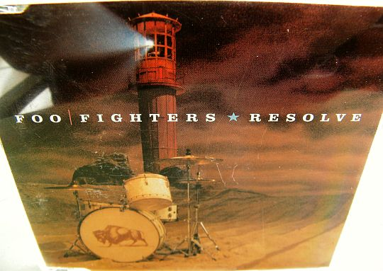 recto du CD sampler collector promo monotitre des Foo Fighters - Resolve (version edit)