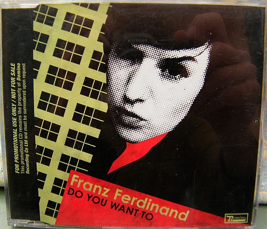 recto du CD sampler promo advance des Franz Ferdinand Do you want to - You could have it so much better