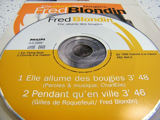 cd Fred Blondin