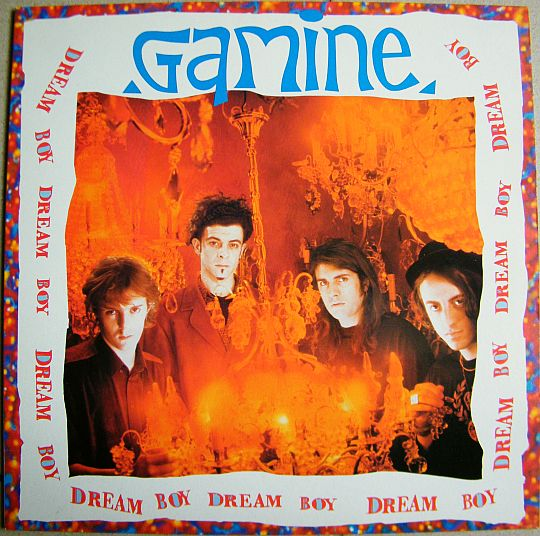 recto du LP promo de Gamine - Dream boy