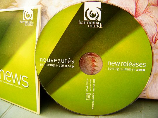 CD promo Collector interdit à la vente HMNEWS printemps été 2010