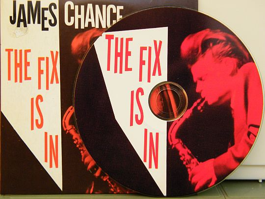 cd James Chance et Terminal City - The fix is in