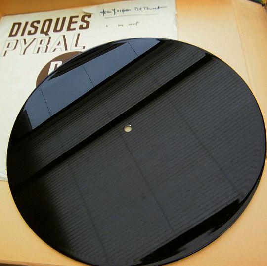 Collector boutique poesie sonore com disques de for Disque en miroir