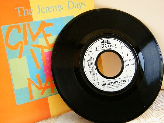 45 tours Collector promotionnel des Jeremy Days - Give it a name