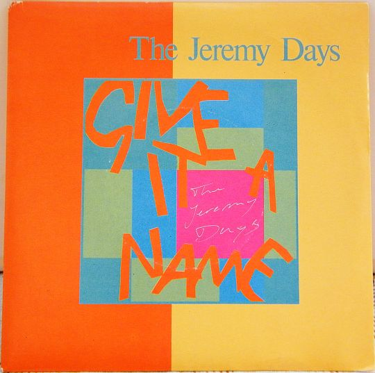 pochette recto collector des Jeremy Days - Give it a name dans Poesie-Sonore.com