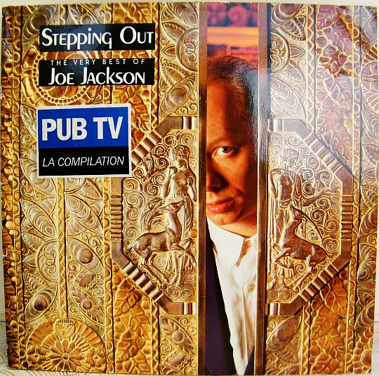 recto de la compilation promo de Joe Jackson - Steppin out