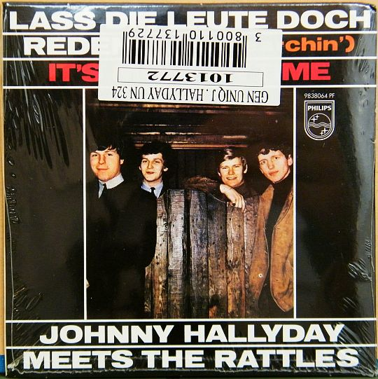 pochette verso Collector du duo Rattles-Johnny