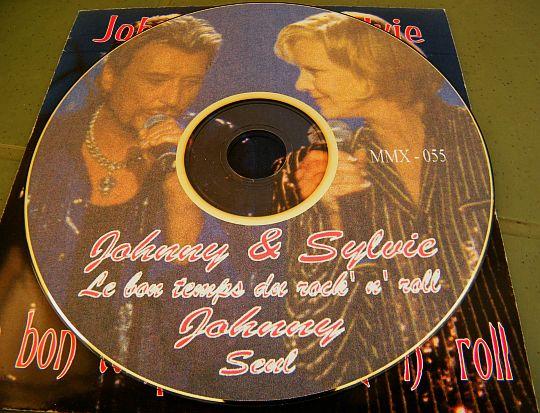 Johnny Hallyday Boutique Officiel >> CD promo hors commerce du duo Sylvie VARTAN & Johnny HALLYDAY - Le bon temps du rock'n'roll dans ...
