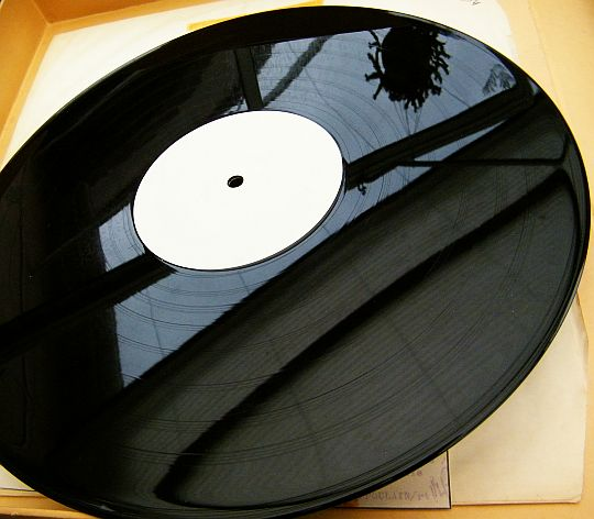 33t Collector White Label Test Pressing de Julien Clerc - face A vierge