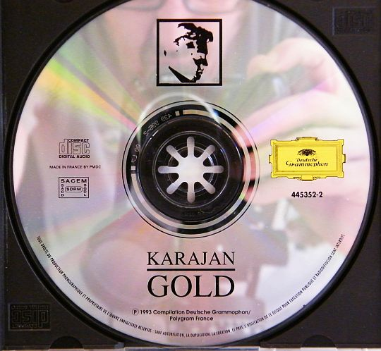 CD sampler collector Gold Karajan
