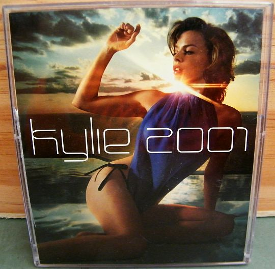 calendrier Collector Kylie Minogue 2001