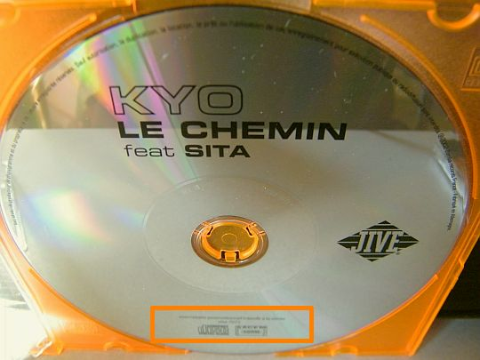 recto du CD promo Collector de Kyo et Sita - le chemin