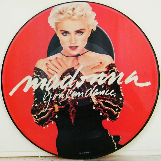 picture-disc Collector de MADONNA - You can dance