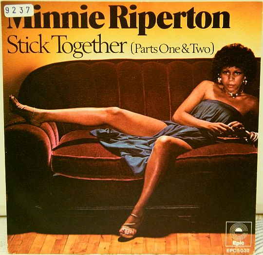recto du 45 tours promo Stick together 1 et 2 par Minnie Riperton