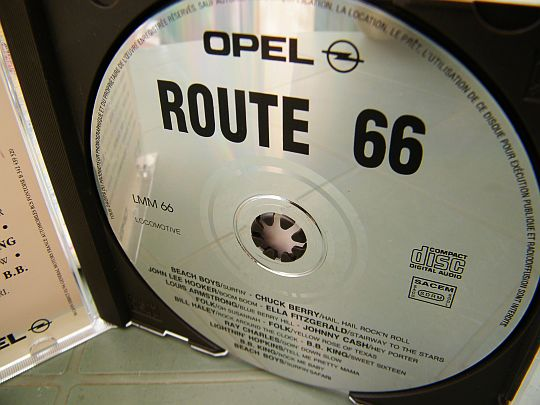 CD promo OPEL - Route 66