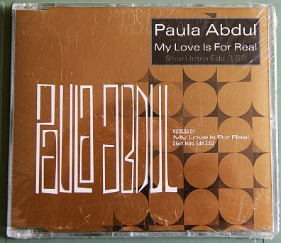 CD monotitre neuf de Paula Abdul - My love is for real
