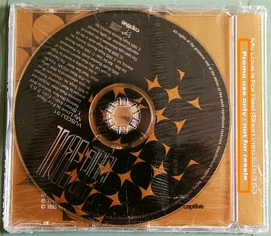 Paula Abdul My love is for real CD monotitre promo
