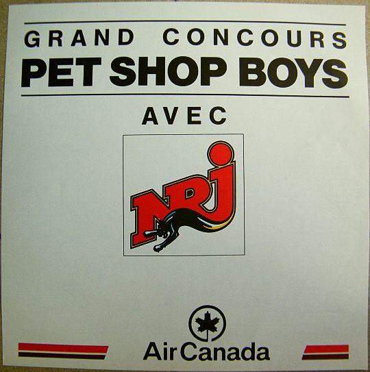 Pet shop boys behaviour lp promo chantillon gratuit interdit la vente dans poesie sonore - Grand petshop ...