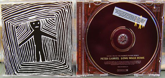 CD promo Collector de Peter Gabriel, Long walk home