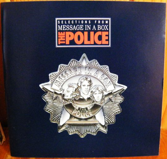 recto du CD collector sampler de The Police - Selections from message in a box