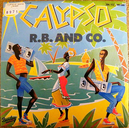 recto du SP promo Barclay de R.B. and CO. - Calypso