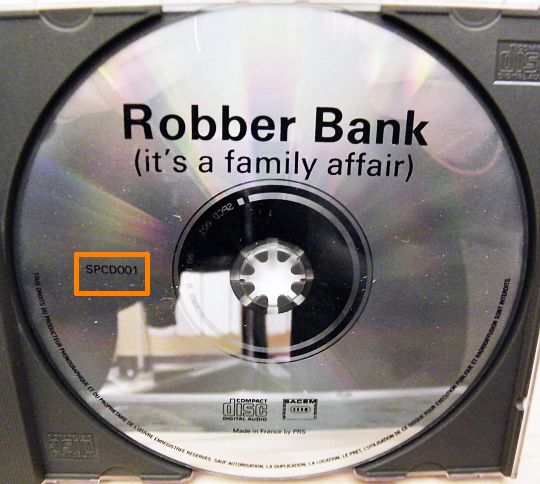 cd collector de Robber Bank - It's a family affair
