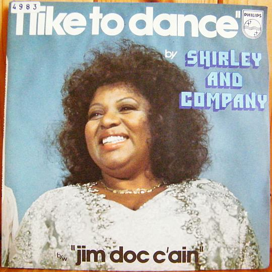 recto du 45 tours promo de Shirley and Company - I like to dance