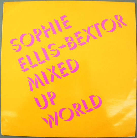 recto du maxi 33t vinyle Collector promo de Sophie Ellis-Bextor - Mixed up world