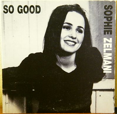 recto du cd promo monotitre de Sophie Zelmani - So good