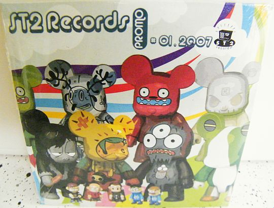 CD sampler promo 18 titres Collector ST2 RECORDS - 01-2007 ...
