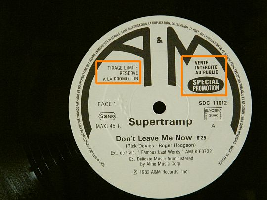 face A Supertramp Collector