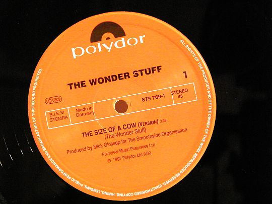 face A The Wonder Stuff Collector