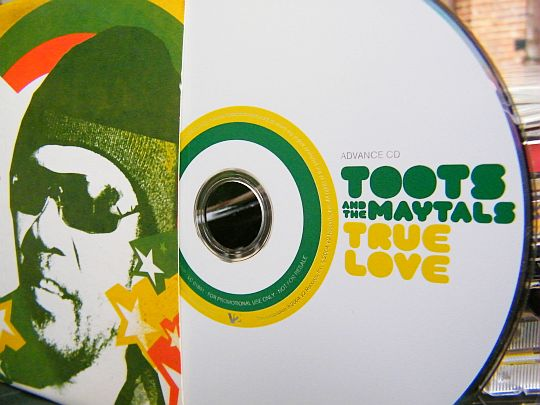 CD Collector advance promo True love de Toots and the Maytals
