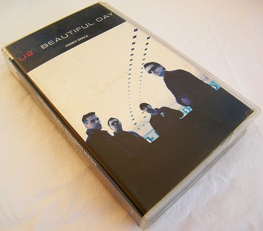 VHS Collector monotitre de U2 - Beautiful day