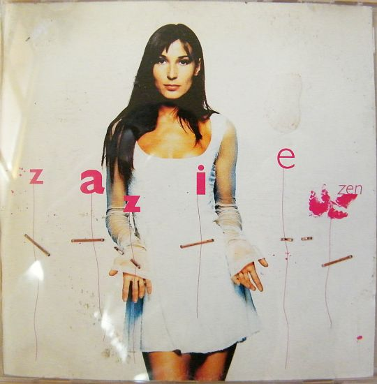 pochette recto du cd sampler Collector advance de Zazie - Zen